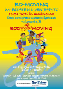 Body Moving volantino Estate-fronte